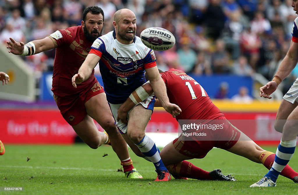Wakefield Wildcats v Catalans Dragons - First Utility Super League : News Photo