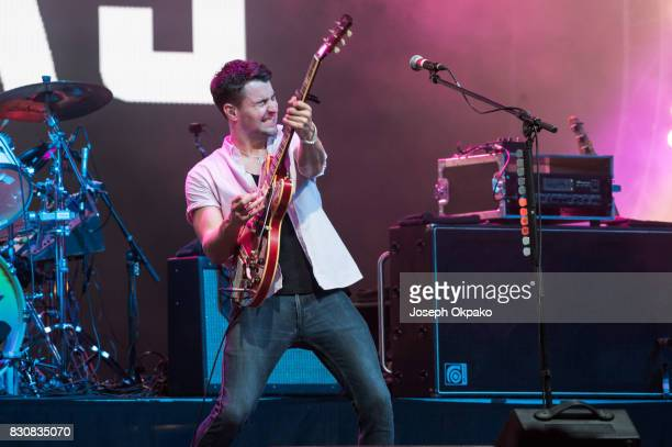 Liam Fray of the Courteeners performs on Day 4 at Sziget Festival 2017 on August 12 2017 in Budapest Hungary