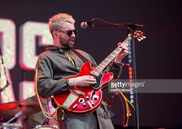 Liam Fray of The Courteeners performs onstage during Isle of Wight Festival 2019 at Seaclose Park on June 14 2019 in Newport Isle of Wight