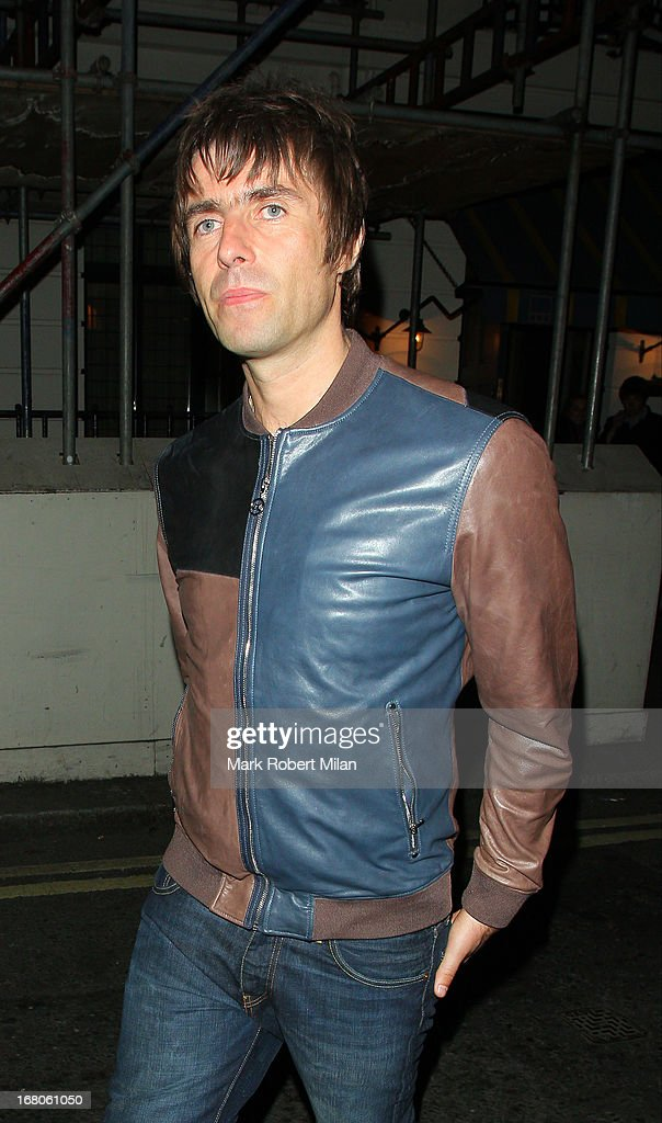 Liam Gallagher at The Little House club on May 4, 2013 in London, England.