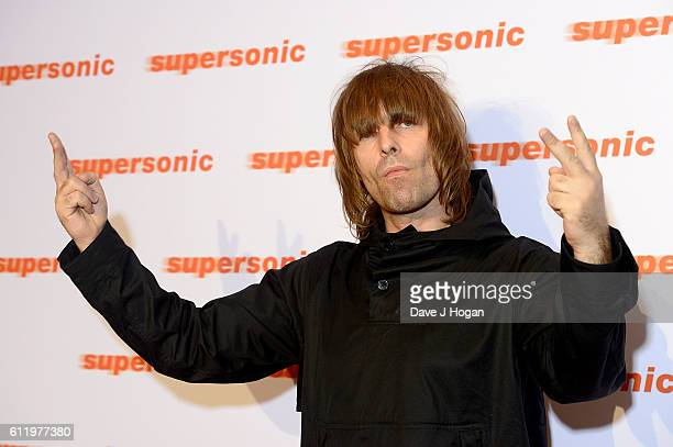 Liam Gallagher attends a special screening of 'Supersonic' the Oasis Documentary at Vue Leicester Square on October 2 2016 in London England