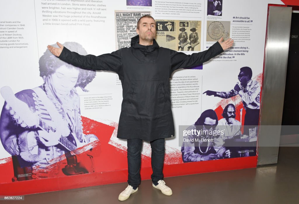 Liam Gallagher attends The Q Awards 2017, in association with Absolute Radio, at The Roundhouse on October 18, 2017 in London, England.