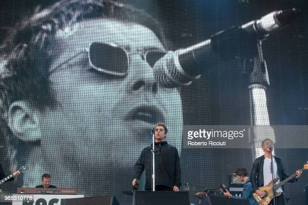 Liam Gallagher headlines TRNSMT Festival Day 2 at Glasgow Green on June 30 2018 in Glasgow Scotland