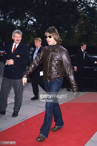 Liam Gallagher of Oasis at the Q Awards in 2000