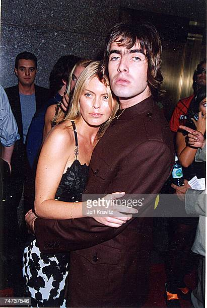Liam Gallagher Patsy Kensit at the 1996 MTV Video Music Awards at in New York City New York
