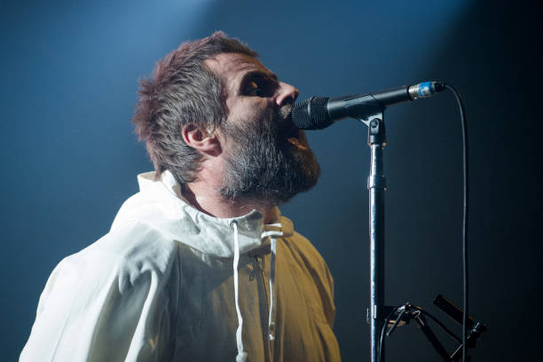 FRA: Liam Gallagher Performs At Le  Zenith