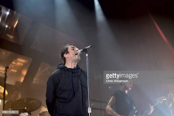 Liam Gallagher performs at The O2 Ritz Manchester on May 30 2017 in Manchester England Tonight sees Liam Gallagher embark on the first of a tour of...