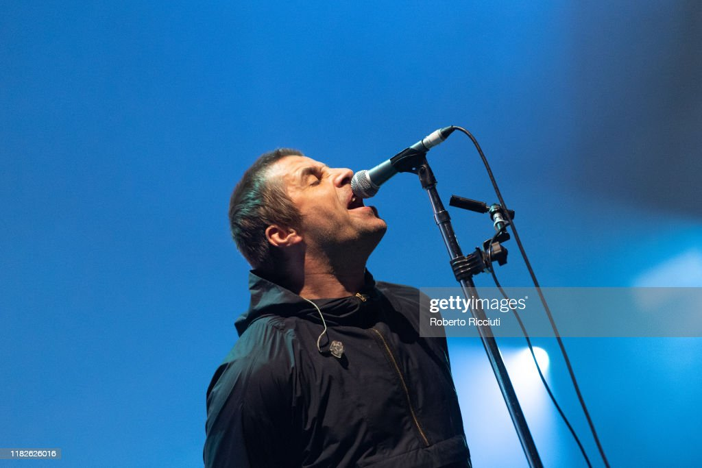 Liam Gallagher Performs At The SSE Hydro, Glasgow : News Photo