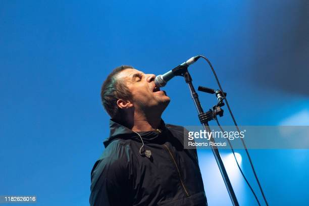 Liam Gallagher performs at The SSE Hydro on November 15 2019 in Glasgow Scotland