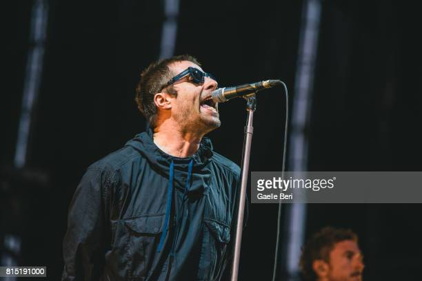 Liam Gallagher performs live on Day 3 of FIB Festival on July 15 2017 in Benicassim Spain