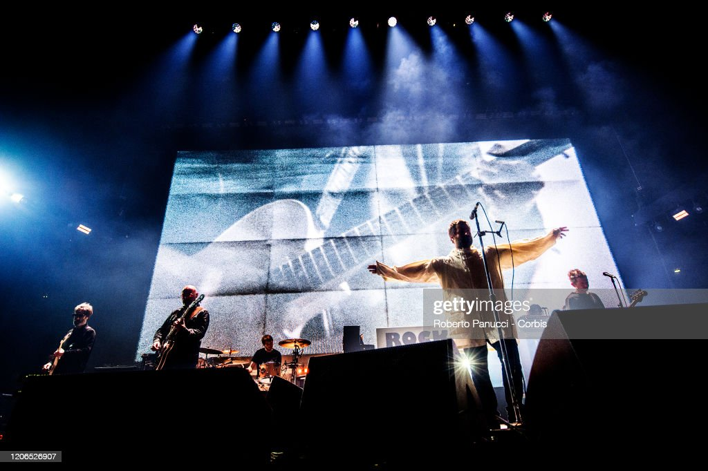 Liam Gallagher Performs In Rome : News Photo