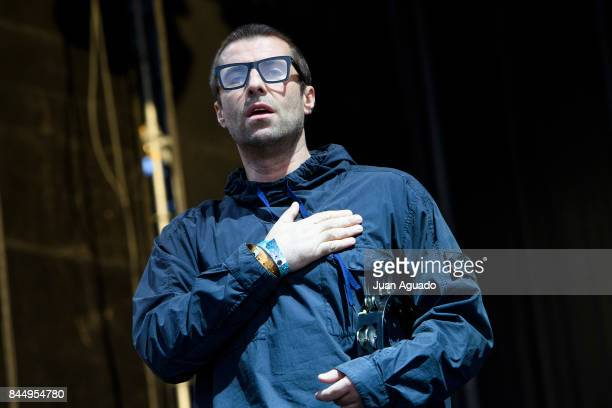 Liam Gallagher performs on stage at Dcode Festival on September 9 2017 in Madrid Spain