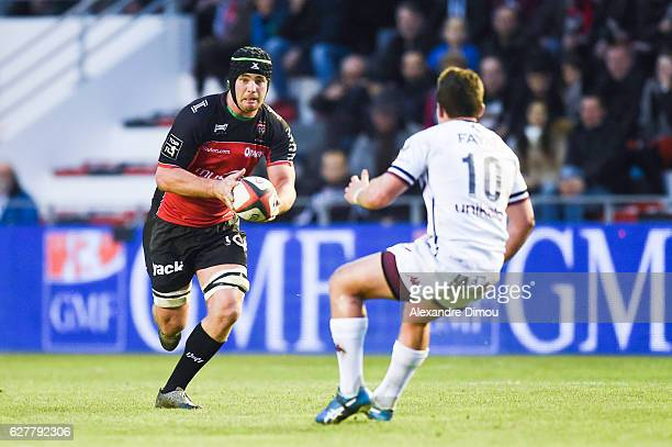 Liam Gill of Toulon during the Top 14 match between Toulon and Union Bordeaux Begles on December 4 2016 in Toulon France