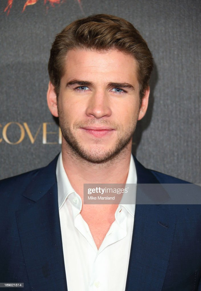 Liam Hemsworth attends a party for 'The Hunger Games: Catching Fire' at The 66th Annual Cannes Film Festival at Baoli Beach on May 18, 2013 in Cannes, France.