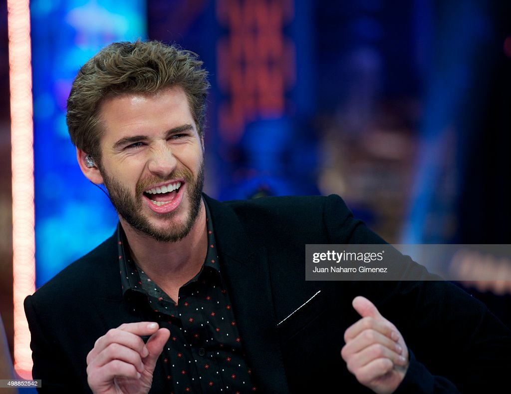 Jennifer Lawrence, Liam Hemsworth and Josh Hutcherson Attend 'El Hormiguero' Tv Show
