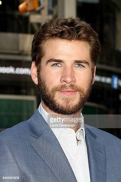 Liam Hemsworth attends 'Independence Day Resurgence' Cast Rings The Nasdaq Stock Market Opening Bell at NASDAQ MarketSite on June 14 2016 in New York...