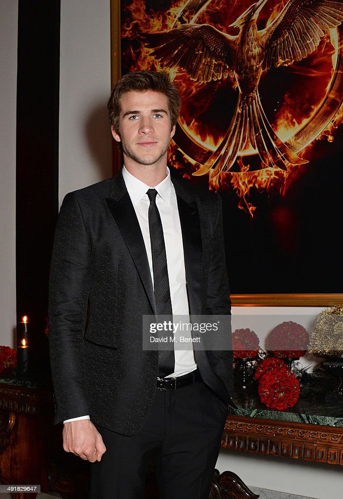 Liam Hemsworth attends Lionsgate's 'The Hunger Games: Mockingjay Part 1' party at a private villa on May 17, 2014 in Cannes, France.