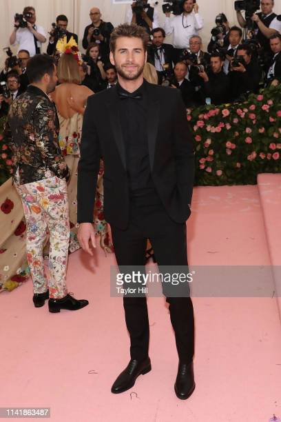 Liam Hemsworth attends the 2019 Met Gala celebrating Camp Notes on Fashion at The Metropolitan Museum of Art on May 6 2019 in New York City