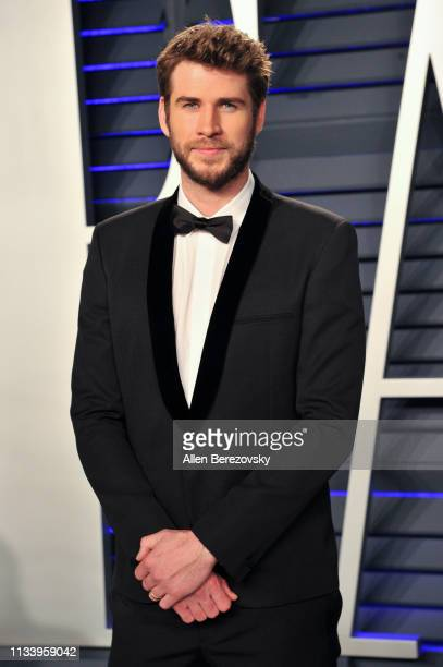Liam Hemsworth attends the 2019 Vanity Fair Oscar Party hosted by Radhika Jones at Wallis Annenberg Center for the Performing Arts on February 24...
