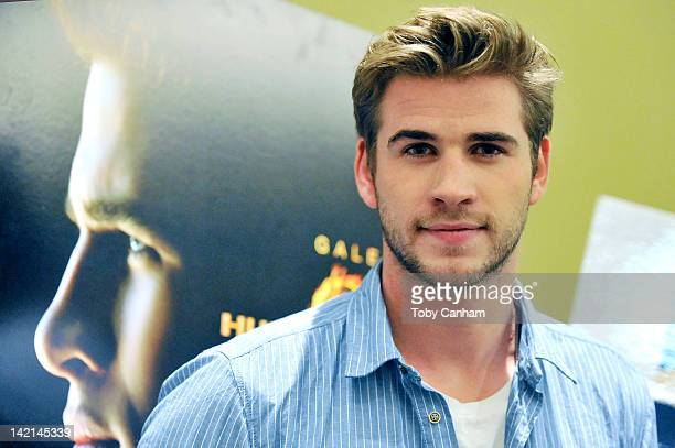 Liam Hemsworth attends the Australians In Film screening of Lionsgate's The Hunger Games on March 29 2012 in Beverly Hills California