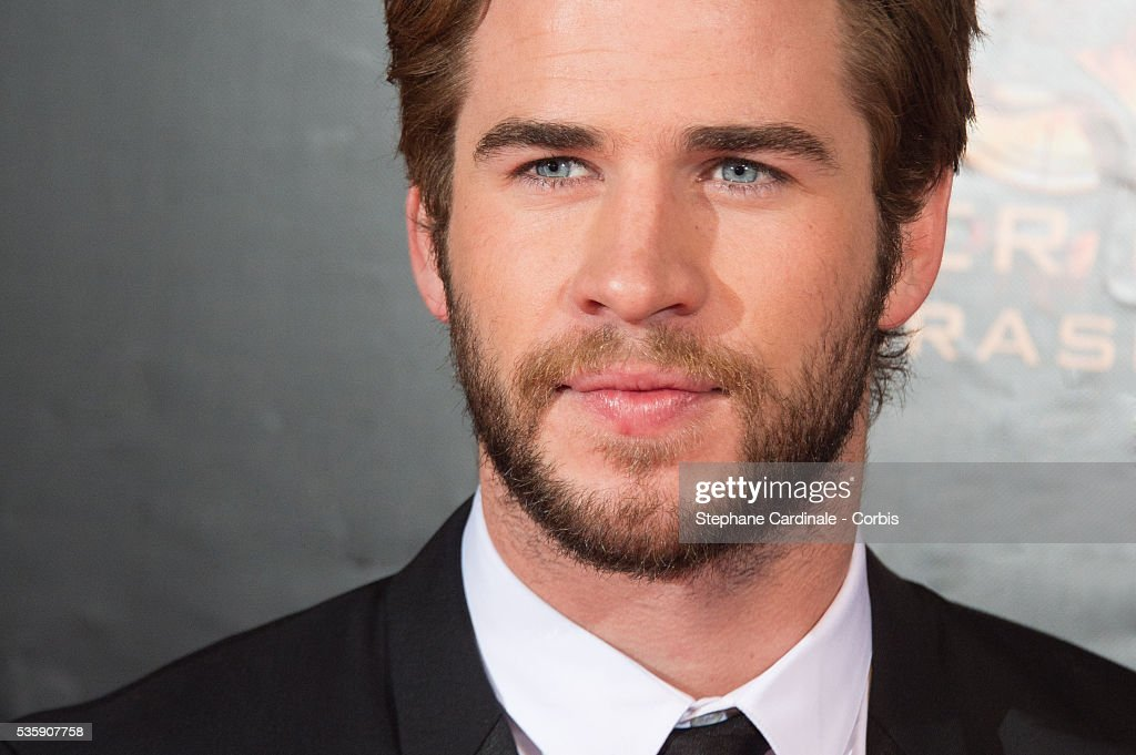 Liam Hemsworth attends 'The Hunger Games: Catching Fire' Paris Premiere at Le Grand Rex, in Paris.