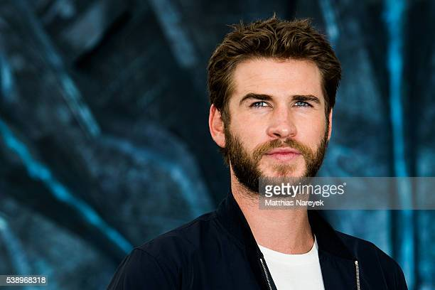 Liam Hemsworth attends the 'Independence Day' Berlin Photo Call on June 9 2016 in Berlin Germany