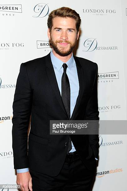 Liam Hemsworth attends the London Fog Presents a New York Special Screening of 'The Dressmaker' at Florence Gould Hall on September 16 2016 in New...
