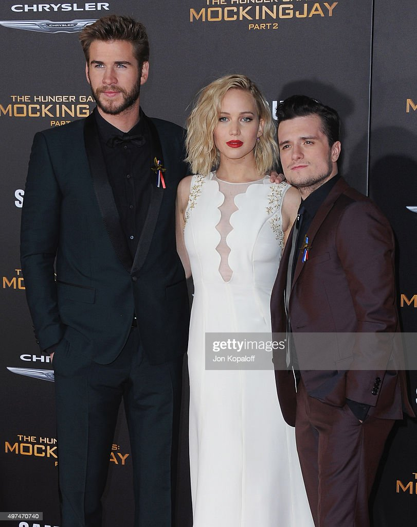 Premiere Of Lionsgate's 'The Hunger Games: Mockingjay - Part 2' - Arrivals : News Photo