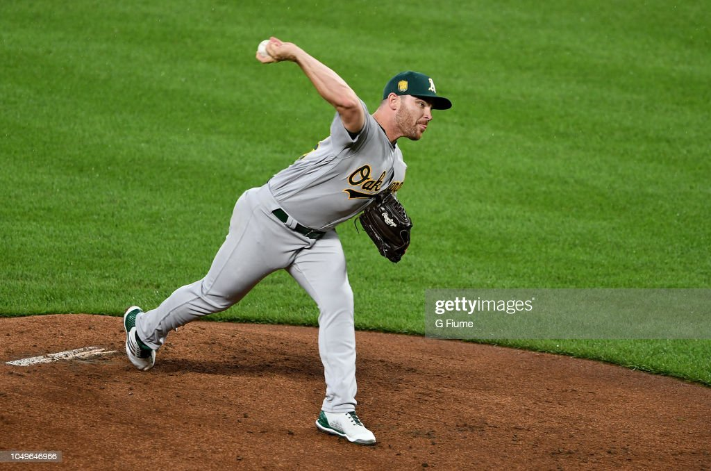 Oakland Athletics v Baltimore Orioles : News Photo
