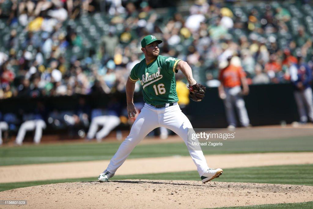 Houston Astros v Oakland Athletics : News Photo