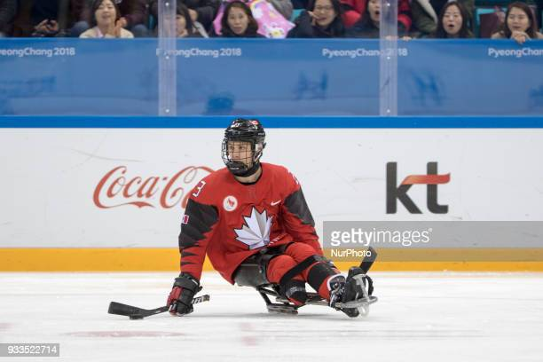 Liam HICKEY during The Ice Hockey gold medal game between Canada and United States during day nine of the PyeongChang 2018 Paralympic Games on March...