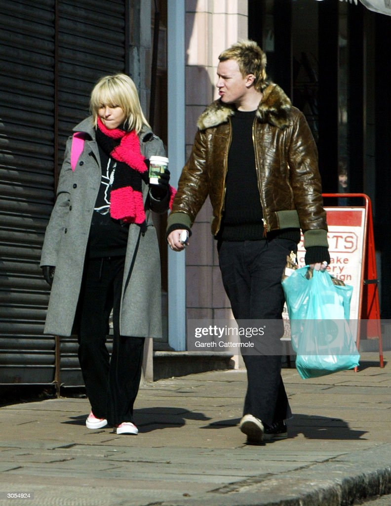 Liam Howlett And Nicole Appleton Out In Hampstead : News Photo