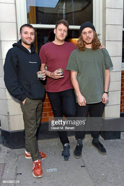 Liam Ivory from Maribou State attends the Hunter x All Points East Festival kickoff party on May 3 2018 in London England