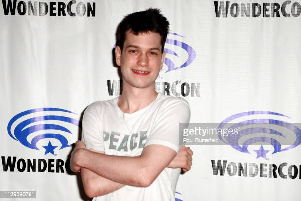 Liam James attends the 'Deadly Class' press line during WonderCon 2019 at Anaheim Convention Center on March 30 2019 in Anaheim California