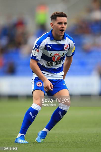Liam Kelly of Reading during the Pre-Season Friendly between Reading and Crystal Palace at Madejski Stadium on July 28, 2018 in Reading, England.