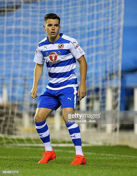 Liam Kelly of Reading during the PreSeason Friendly match between Reading and AFC Bournemouth at Madejski Stadium on July 29 2016 in Reading England