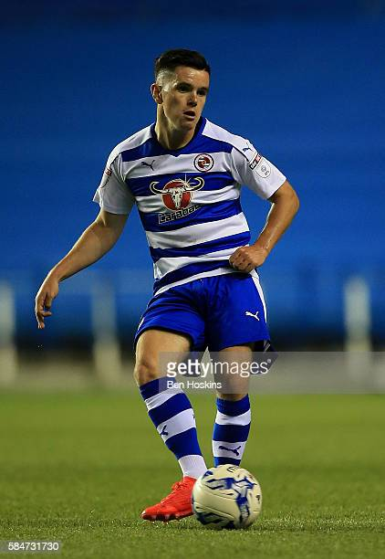 Liam Kelly of Reading in action during the pre season friendly match between Reading and AFC Bournemouth at Madejski Stadium on July 29 2016 in...