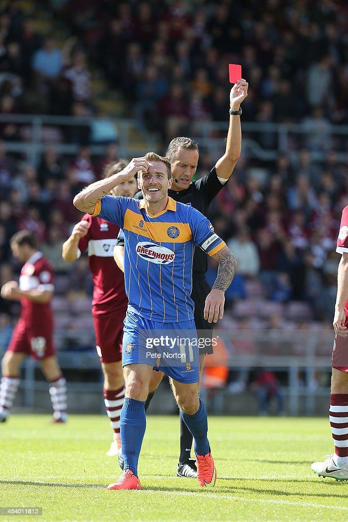 Northampton Town v Shrewsbury Town - Sky Bet League Two