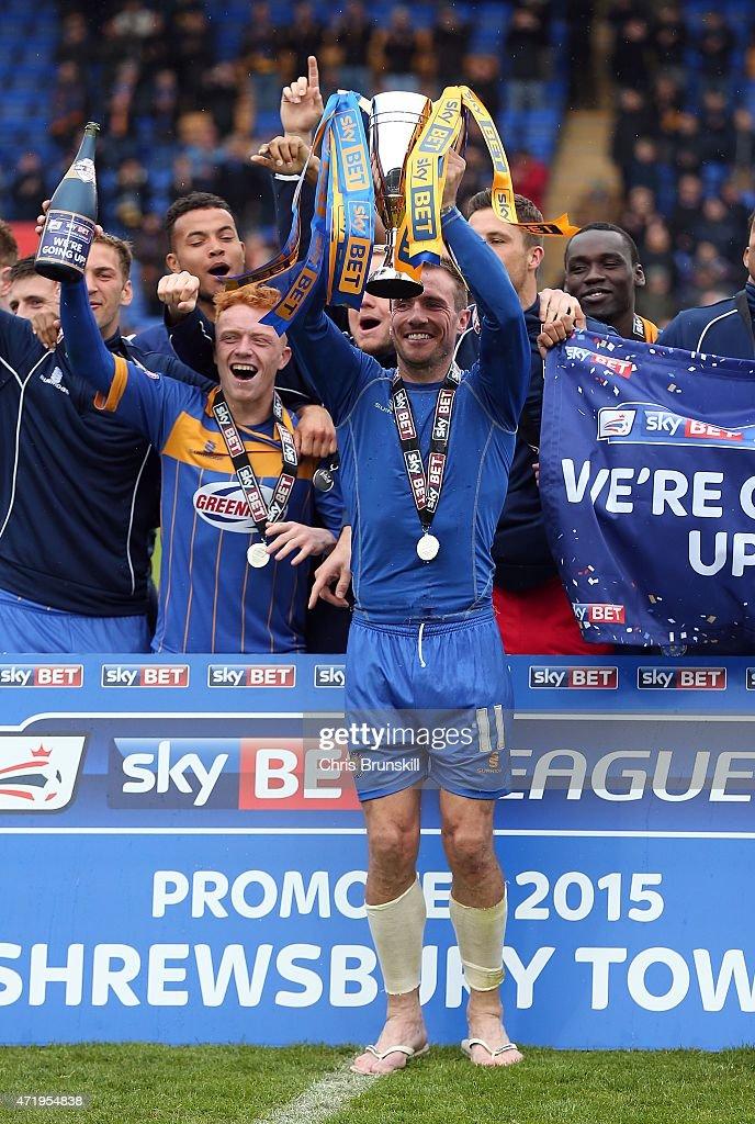 Shrewsbury Town v Plymouth Argyle - Sky Bet League Two