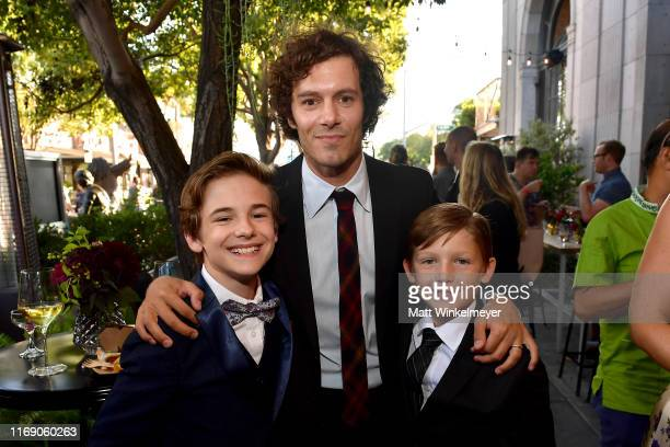 Liam MacDonald Adam Brody and Ethan Tavares attend the LA Screening Of Fox Searchlight's Ready Or Not at ArcLight Culver City on August 19 2019 in...