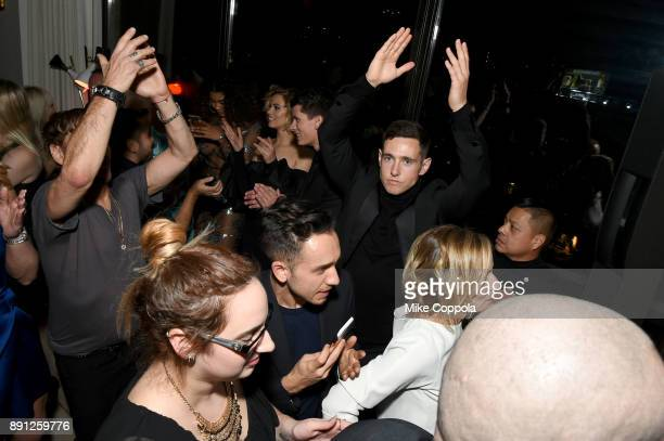 Liam Malone attends the CR Fashion Book Celebrating launch of CR Girls 2018 with Technogym at Spring Place on December 12 2017 in New York City