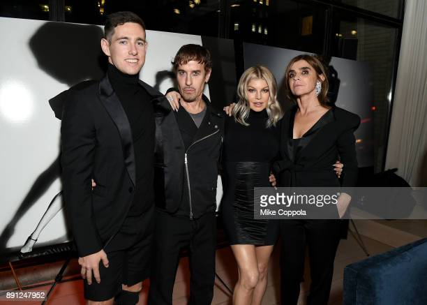 Liam Malone Steven Klein Fergie and Carine Roitfeld attends the CR Fashion Book Celebrating launch of CR Girls 2018 with Technogym at Spring Place on...