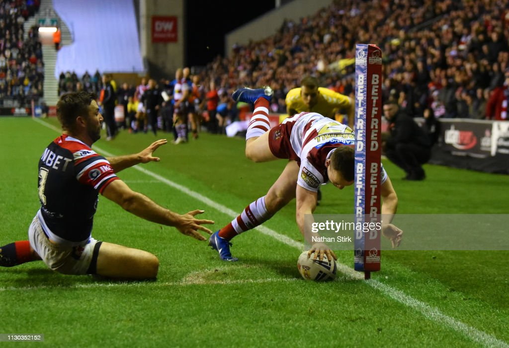 Wigan Warriors v Sydney Roosters - World Club Challenge : News Photo