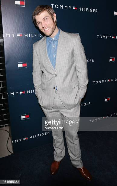 Liam McIntyre arrives at the Tommy Hilfiger West Coast Flagship grand opening event held on February 13 2013 in West Hollywood California