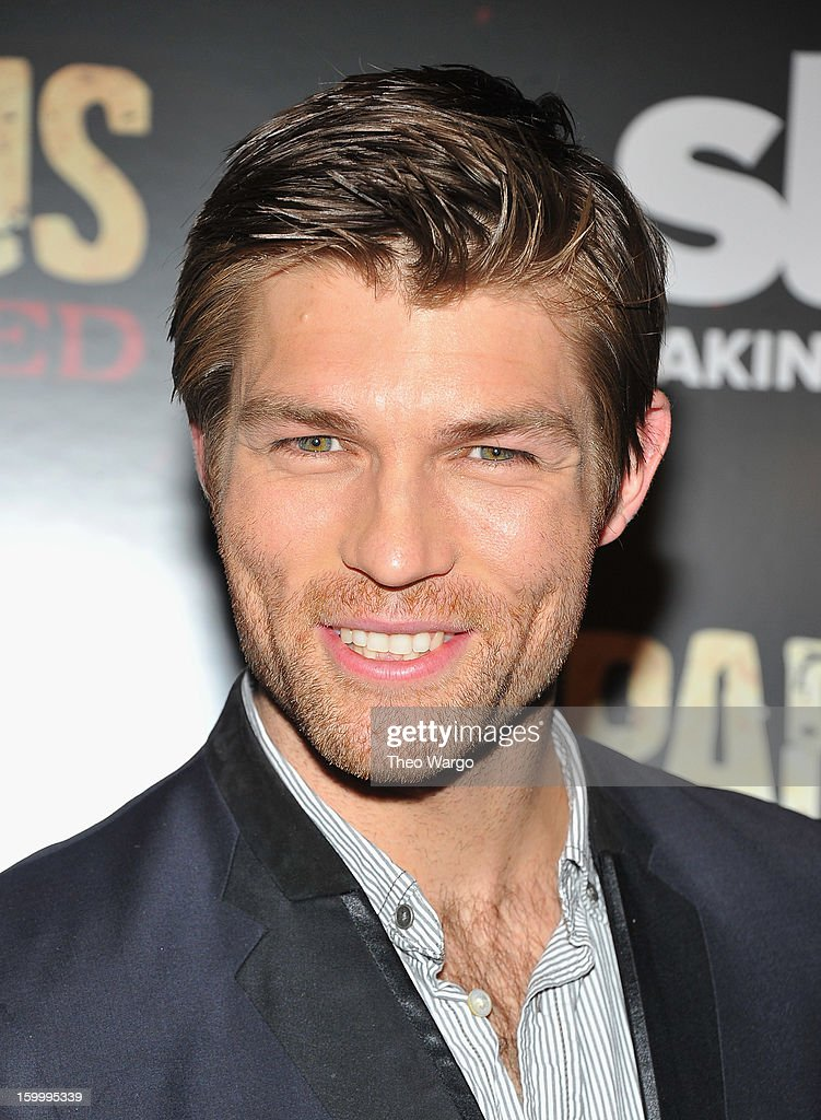 Liam McIntyre attends 'Spartacus: War Of The Damned' Series Finale Premiere at MOMA on January 24, 2013 in New York City.
