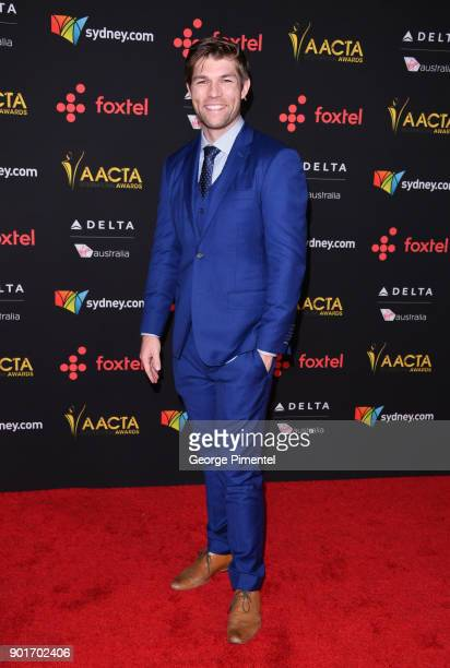 Liam McIntyre attends the 7th AACTA International Awards at Avalon Hollywood in Los Angeles on January 5 2018 in Hollywood California