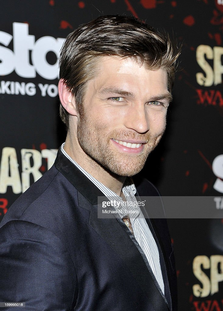 Liam McIntyre attends the 'Spartacus: War Of The Damned' series finale premiere at The Museum of Modern Art on January 24, 2013 in New York City.