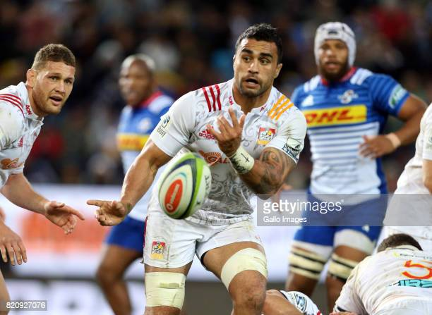 Liam Messam of Chiefs during the Super Rugby Quarter final between DHL Stormers and Chiefs at DHL Newlands on July 22 2017 in Cape Town South Africa