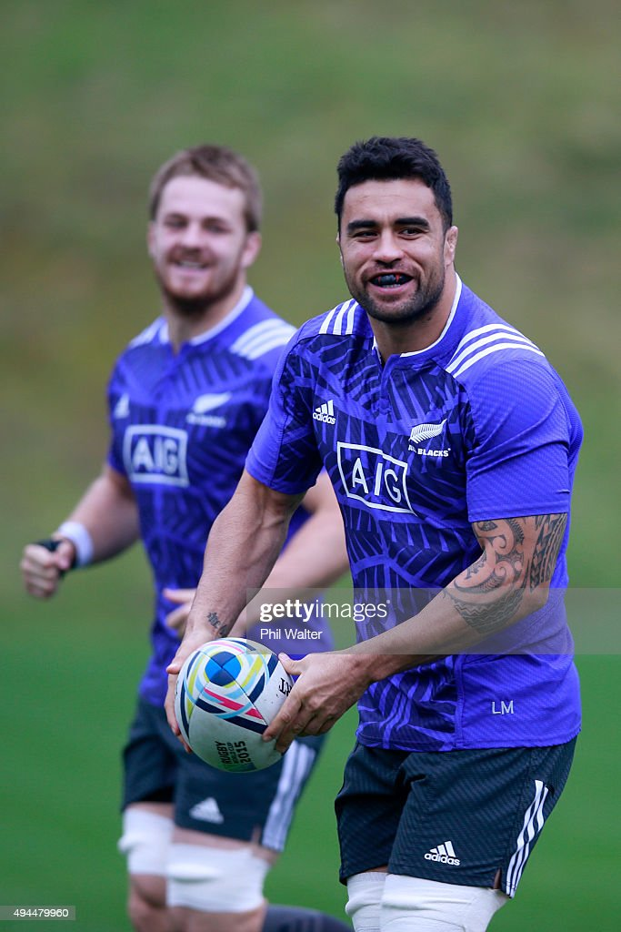 New Zealand All Blacks Training Session