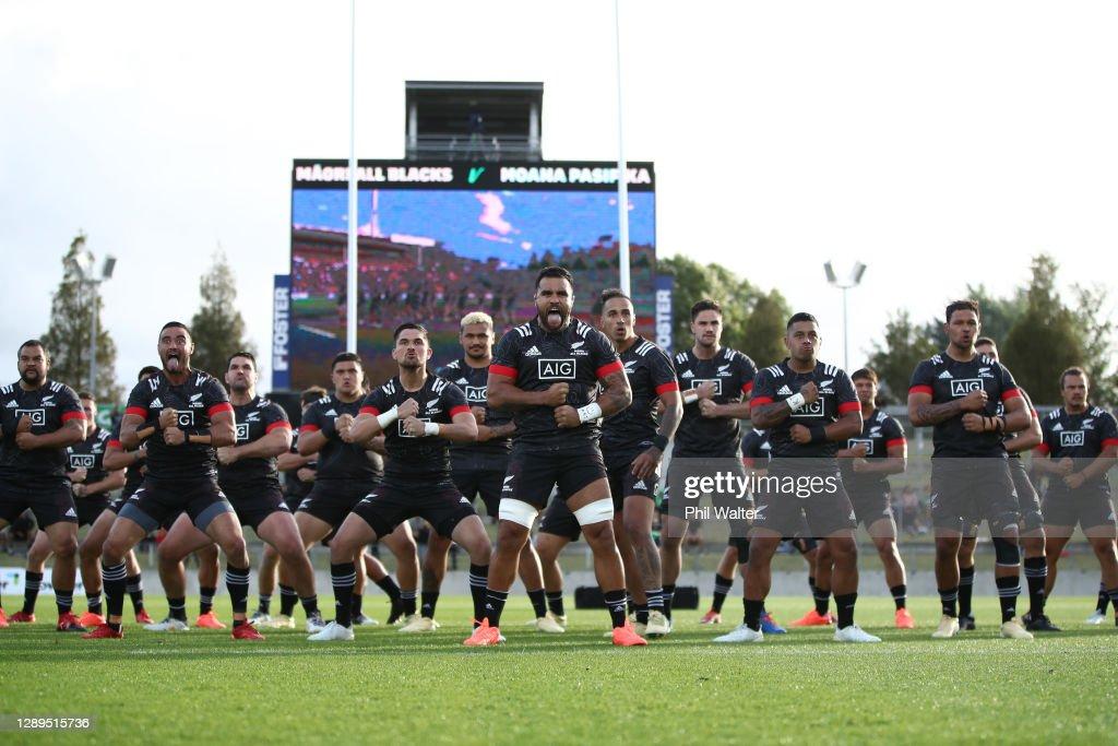 Moana Pasifika v Maori All Blacks : News Photo